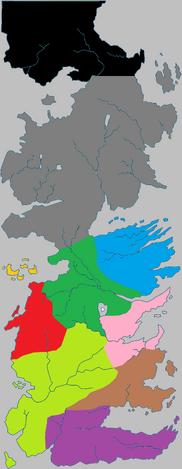 Regions of Westeros