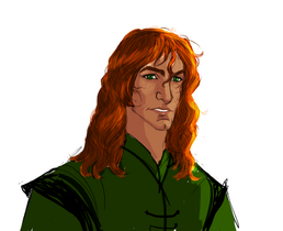 The red haired knight by lucius007-d6ynnk7
