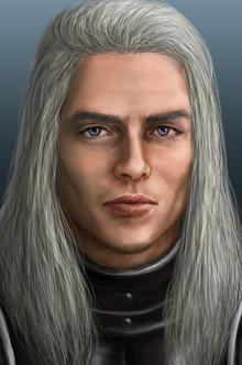 Rhaegar targaryen portrait by kittanee-d5u98fe