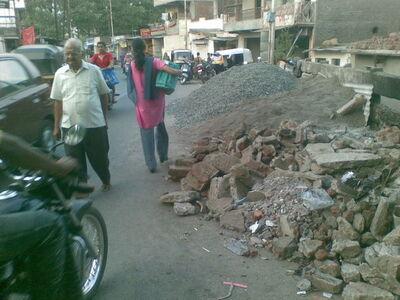 Dattawadi - rubble