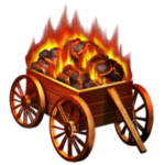 Flaming Carts