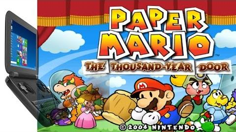 GPD Win - Paper Mario Thousand-Year Door (Dolphin 5.0 DirectX 12)