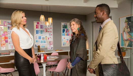 Grace and frankie characters