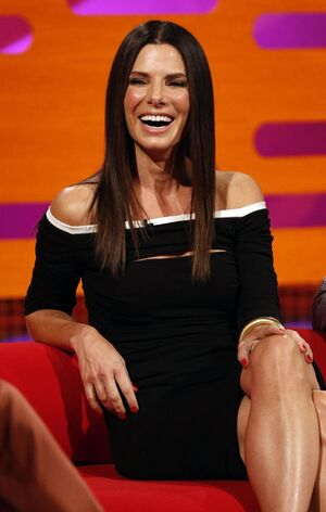 Sandra Bullock The Graham Norton Show in London