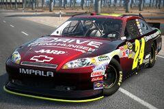 2011 Jeff Gordon ♯24 Drive to End Hunger CHEVROLET IMPALA '11