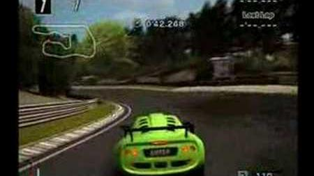 GT4 Deep Forest Raceway 1'25