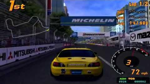 Gran Turismo 3 A-Spec (Honda Spoon Sports S2000 Race Car)