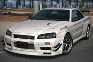 Mine's BNR34 SKYLINE GT-R N1 base '06