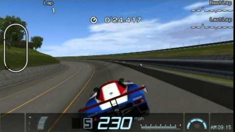 Gran Turismo PSP - Nissan R89C Race Car '89 Top Speed