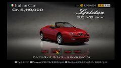 Alfa Romeo Spider 3.0i V6 24V '01