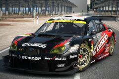 Subaru CUSCO DUNLOP SUBARU IMPREZA (SUPER GT) '08