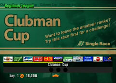 Clubman Cup (GT3)