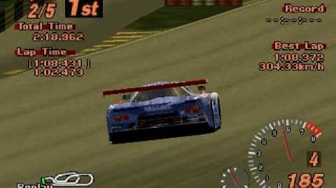 Gran Turismo 2 - Nissan R390 GT1 LM Race Car '98