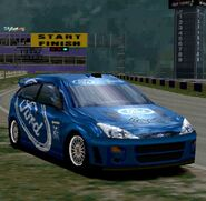 Ford Focus Rally Car '99 (Blue)