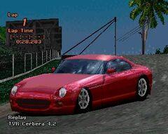 TVR Cerbera 4.2 Formula Red Pearl