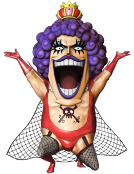 Ivankov Pirate Warriors 3