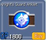 Knight's Guard Anklet