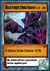 Black Knight Shield Bearer Card