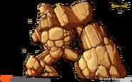 19 Giant Stone Golem