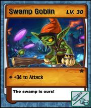 Lvl 30 - Swamp Goblin