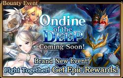 Ondine of the Deep Banner