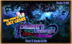 Balaur's Onslaught - Reign of Darkness Banner