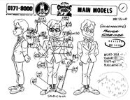 Model Sheets Gravedale High (1)