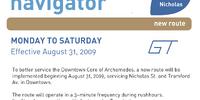 Gravenhurst Regional Transit route 10 'Nicholas'