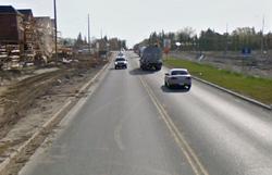 Highway 4 near Maple Ridge