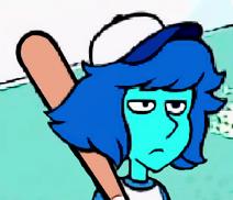 Lapis-Lazuli-Doing Baseball