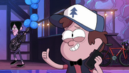 S1e7 Dipper gives the thumbs up