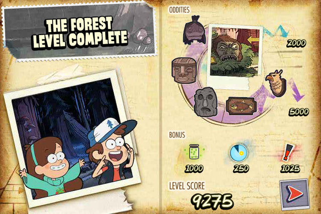 File:FN The Forest level complete.png