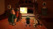 S2e7 fireplace passageway