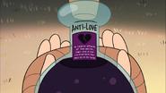 S2e9 antilove label