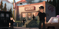 Gravity Falls Police Department