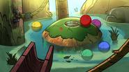 S2e3 ball on island
