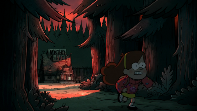 File:S2e17 Mabel escaping the shack.png