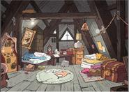 Oddity Creator Twins room