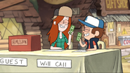 S1e3 wendy and dipper holding money