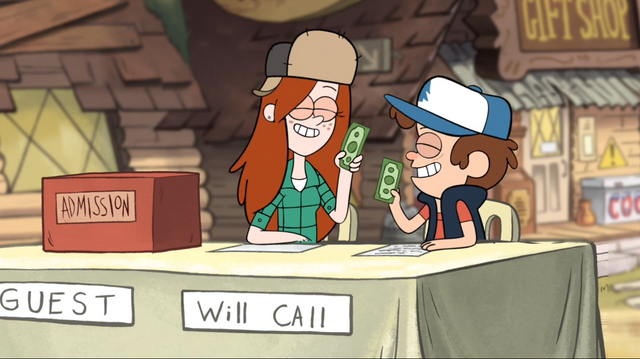 File:S1e3 wendy and dipper holding money.png