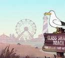 Пляж Стеклянных Осколков, Нью Джерси