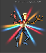 S2e1 zombie disco production art