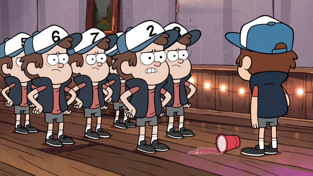 File:S1e7 dipper confronted by clones.png