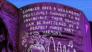S2e1 zombie weakness