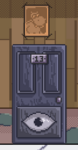 Game rumble's revenge cursed door