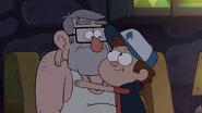S1e19 Dipper hugging Stan