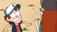 S1e9 Dipper freaking out