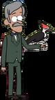 Woodpecker's husband appearance