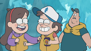 S1e2 mabel and dipper punching