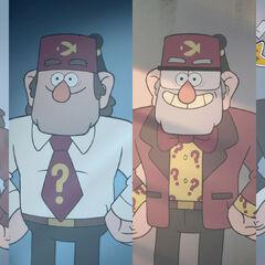 Изменение внешности Стэна с годами.